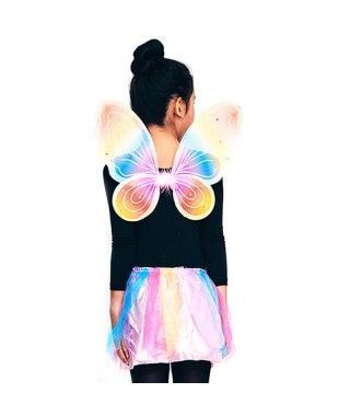 Conjunto Mariposa Multicolor Alas y Tutú