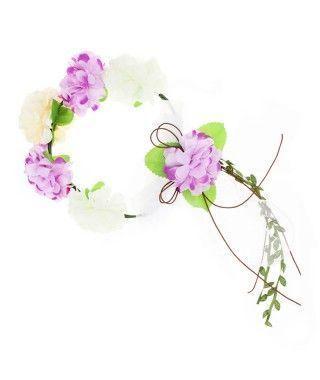 Corona de Flores Bosque