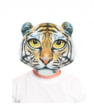 Máscara Tigre Print 2D
