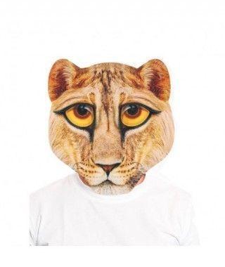 Máscara León Print 2D