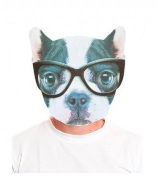 Máscara Bulldog Serio 2D