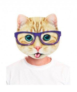 Máscara Gato Atigrado 2D