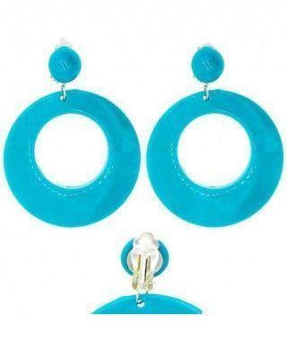 Pendientes Flamenca Azul...