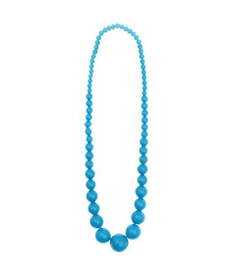 Collar Flamenca Azul Claro