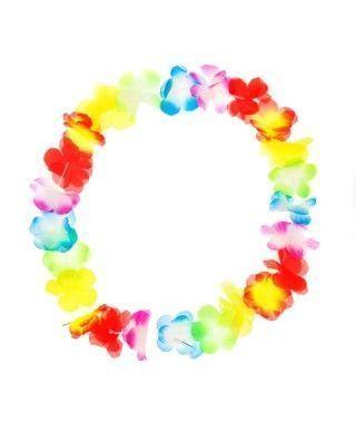 Collar Hawaiano Flores pequeñas Multicolor