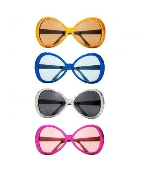 Gafas Disco Mosca Purpurina