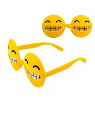 Gafas Emoticono Sonrisa Dientes Doble