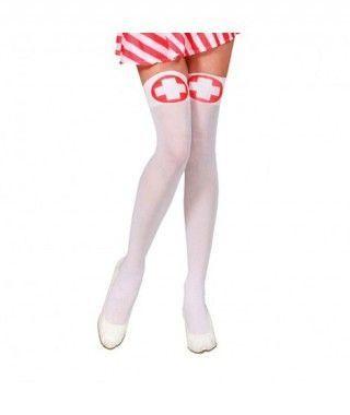 Medias de Enfermera Accesorio Carnaval y Halloween