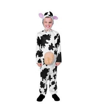 Disfraz Vaca Ubres Infantil