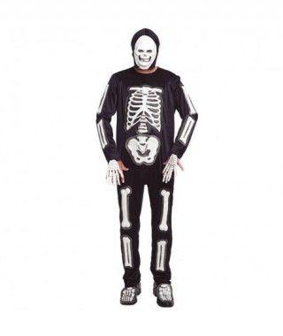 Disfraz Esqueleto Hombre Foami Blanco