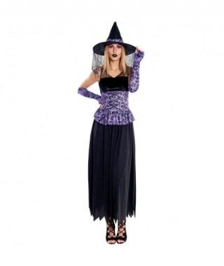 Disfraz Bruja Lily Mujer