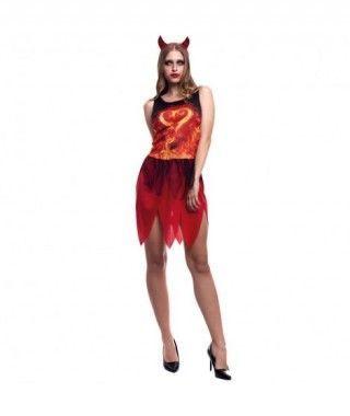 Disfraz Diablesa Mujer Hot Devil