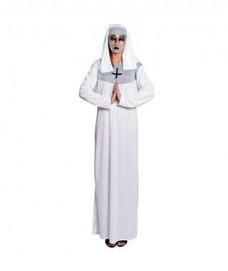 Disfraz Monja Blanca Adulto