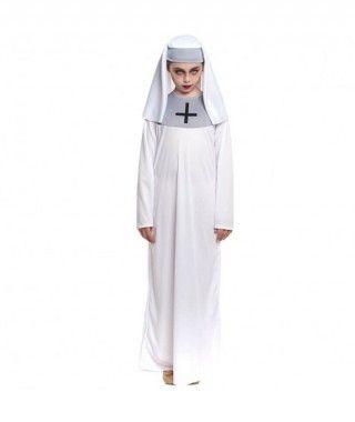 Disfraz Monja Blanca Niña