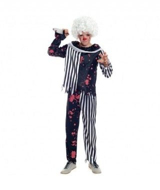 Disfraz Payaso Bloody Clown Niño