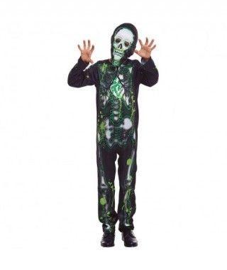 Disfraz Esqueleto Radiactivo Niño