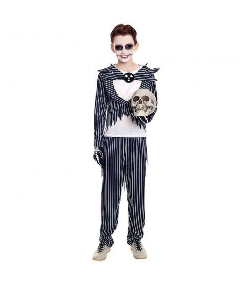 Disfraz Novio Rayas Halloween Niño