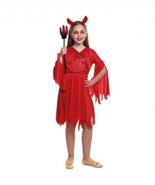 Disfraz Diablesa Niña Chic