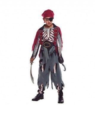 Disfraz Pirata Skull Niño