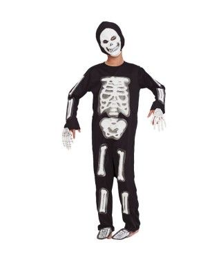 Disfraz Esqueleto Huesos 3D infantil Halloween