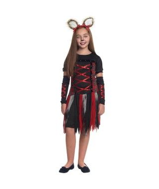 Disfraz Loba Roja Niña