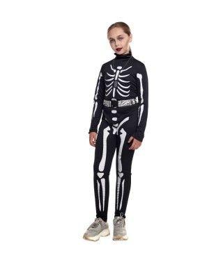 Disfraz Skull Soldier Niña
