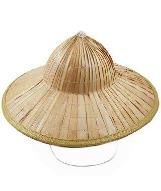 Sombrero Vietnamita Bambú Disfraz
