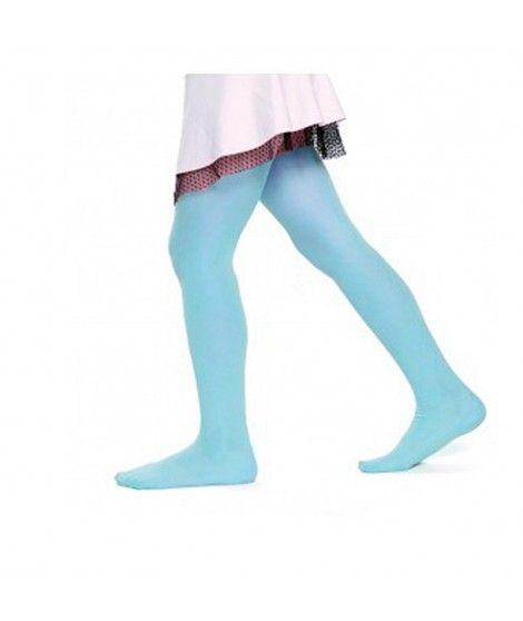 Pantys azules Infantil Liso Accesorio Carnaval y Halloween