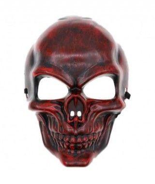 Máscara Skull Roja PVC