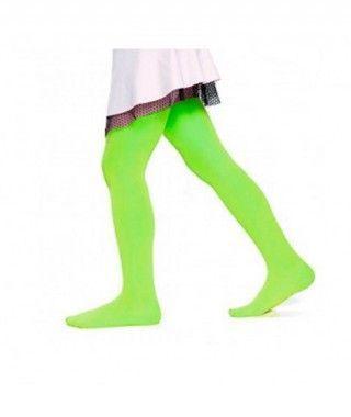 Pantys verdes Infantil Liso Accesorio Carnaval y Halloween