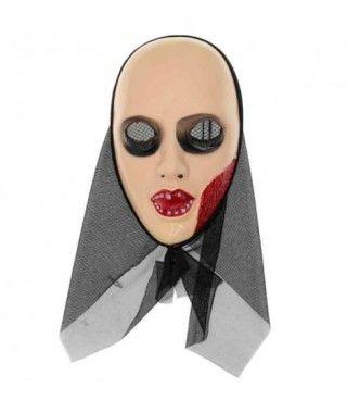 Máscara Monja Sangrante Capucha