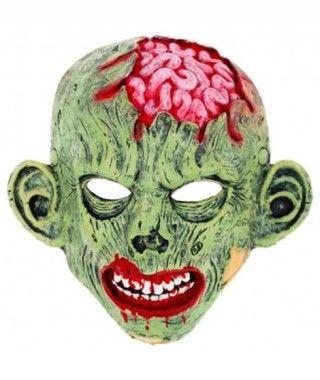 Máscara Zombie Sesos Goma