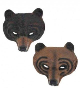Máscara Oso Pardo Goma