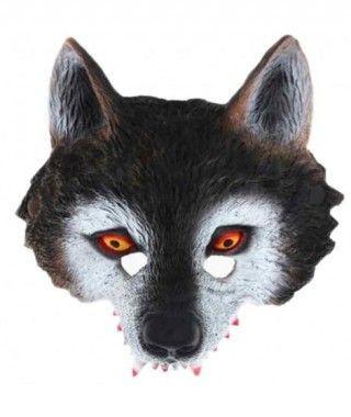 Máscara Lobo Sanguinario Goma