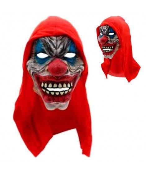 Máscara Payaso Asesino Capucha Látex