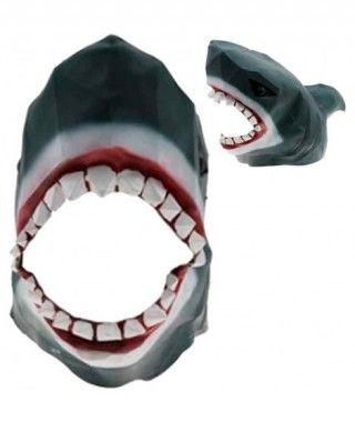 Máscara Tiburón Origami Látex
