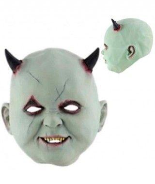 Máscara Bebé Demoniaco Látex