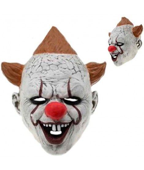 Máscara Payaso Asesino Sonriente Látex