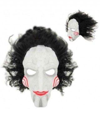 Máscara Loco Espirales con Pelo Látex