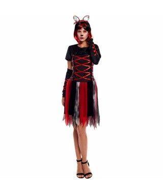 Disfraz Loba Roja Mujer