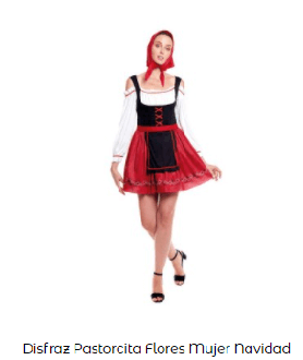 disfraz de pastorcillos mujer belén viviente