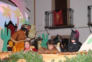 niños en la noche de reyes