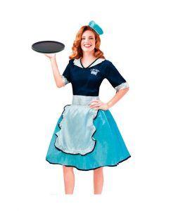disfraces vintage años 50 camarera