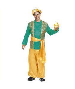 Disfraz de paje para la noche de reyes