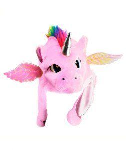 gorro de unicornio de colores para disfraces de unicornio