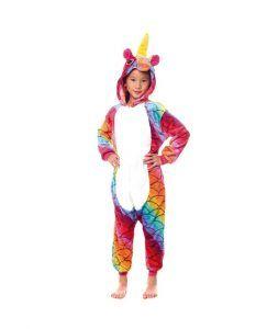 disfraces de unicornio infantil multicolor