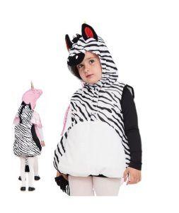 disfraces de animales salvajes cebra bebé
