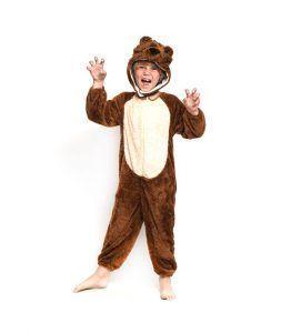 disfraces de animales salvajes oso pardo