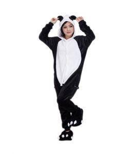 disfraces de animales salvajes oso panda