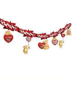 decoración fiesta de disfraces por San Valentín